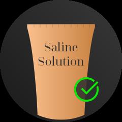 Saline solution
