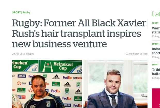 New Zealand Herald - HQ Hair Transplants Feature