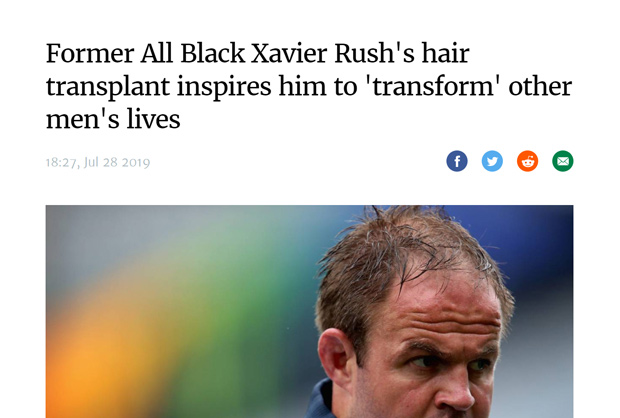 Stuff - New Zealand - HQ Hair Transplants Feature